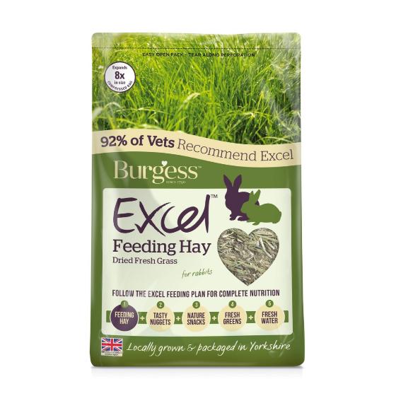 Burgess Excel Fresh Forage Timothy Feeding Hay
